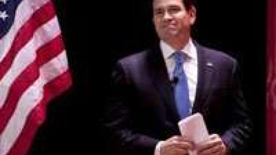 Usa: il senatore di origini cubane Rubio annuncia candidatura alla Casa Bianca