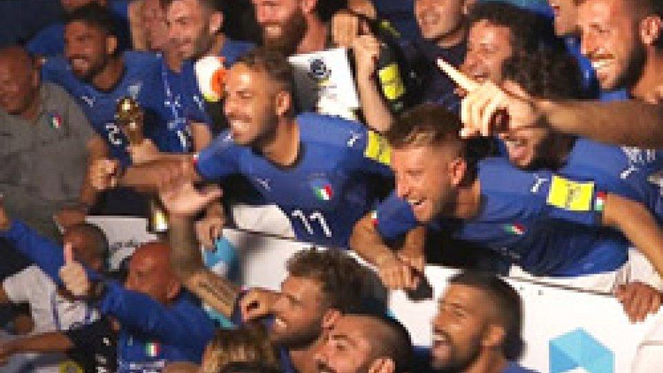 Italia campione d'EuropaBeach Soccer: Italia campione d'Europa