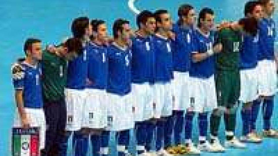 Futsal U21: stage sul Titano per la Nazionale