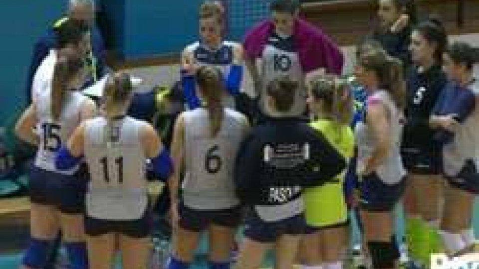 Volley: Titan Services sempre capolista, battuto Rimini 3-1Volley: Titan Services sempre capolista, battuto Rimini 3-1