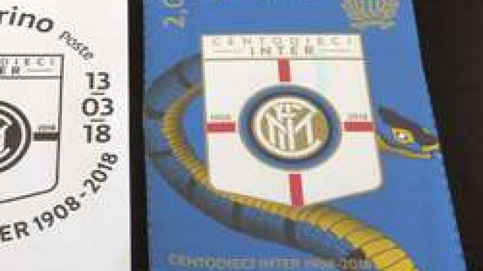 Inter: un francobollo per celebrare i 110 anni