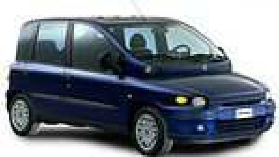 La Fiat Multipla ad idrogeno