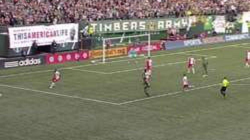 MLS, Portland-New England 1-1: Timbers in vetta con Columbus