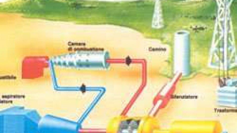 centrale elettrica turbo gas
