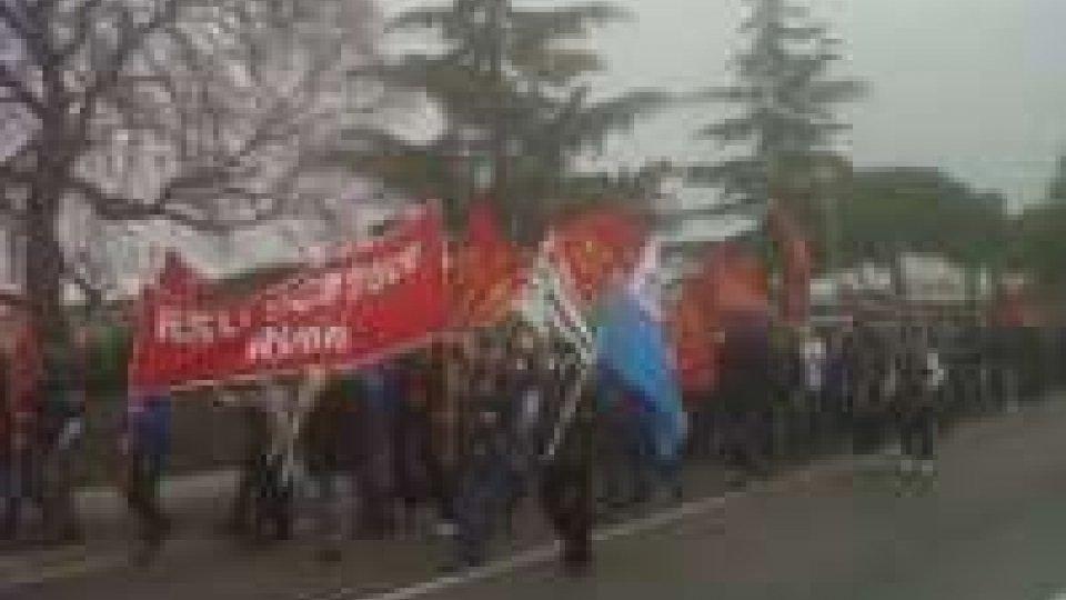 """Scm: manifestazione lungo la marecchiese contro """"tagli"""""""