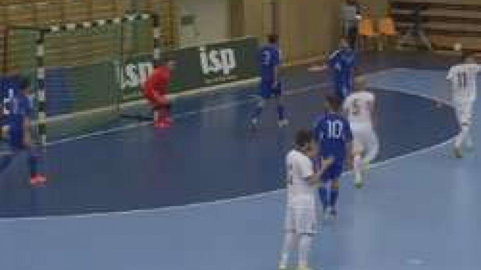 Futsal: Grecia - San Marino 2-1Futsal: Grecia San Marino 2-1