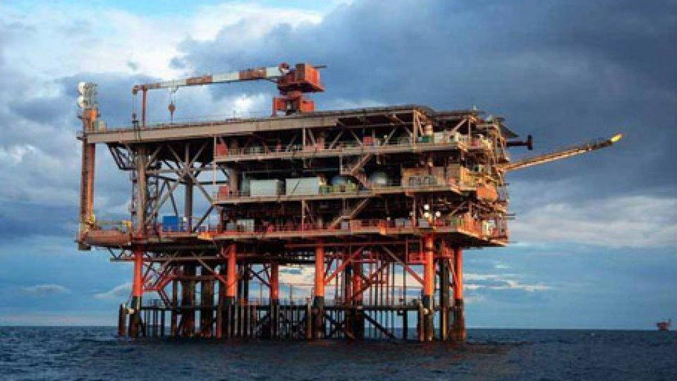 Una piattaforma petrolifera. @ansa