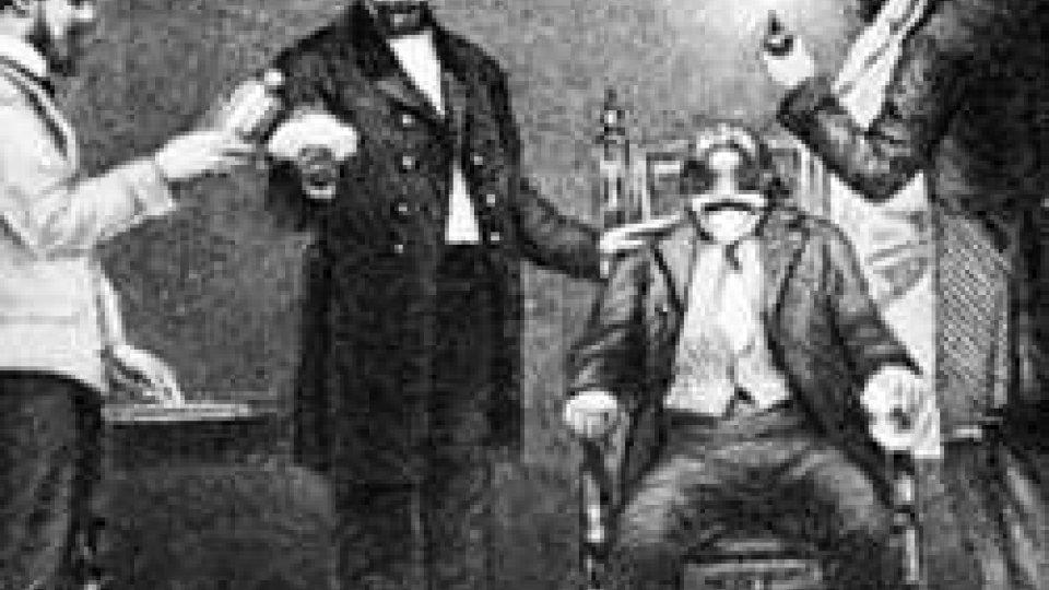 30 marzo 1842: primo intervento chirurgico con l'uso dell'etere come anestetico