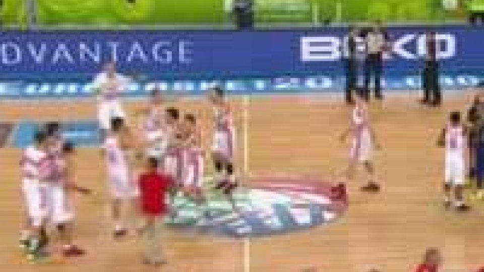 Eurobasket. Croazia in semifinale.
