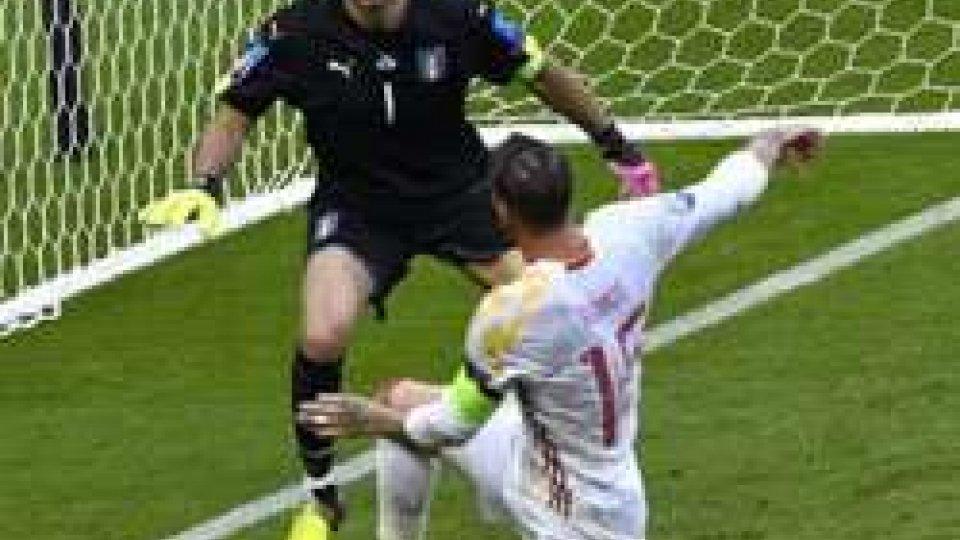 Buffon, protagonista con le sue parate