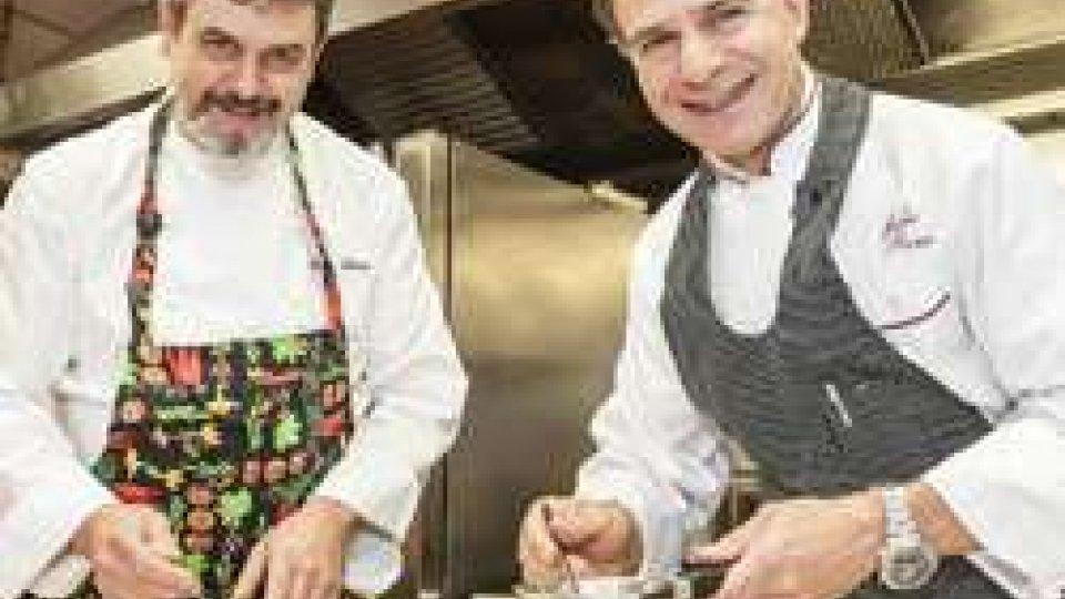 Ristorante Righi, due chef stellati e una sola cucina