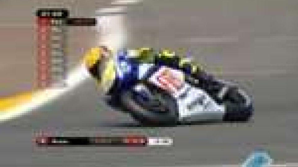 Gp Francia: pole per Valentino RossiGp Francia: pole per Valentino Rossi
