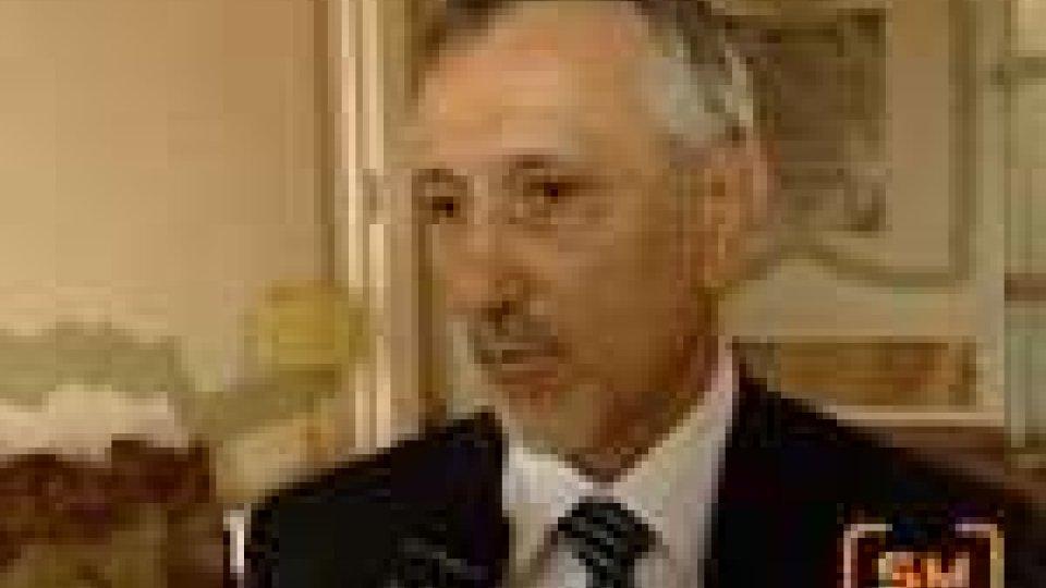 San Marino - La rappresentanza sindacale di Polis Spa ricevuta da Valentini
