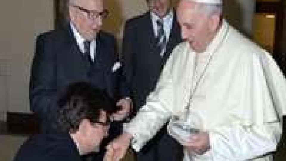 Roma: il Comitato Paralimpico in udienza privata con Papa Francesco