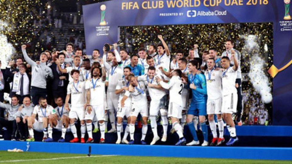 Real Madrid campione del mondo per club