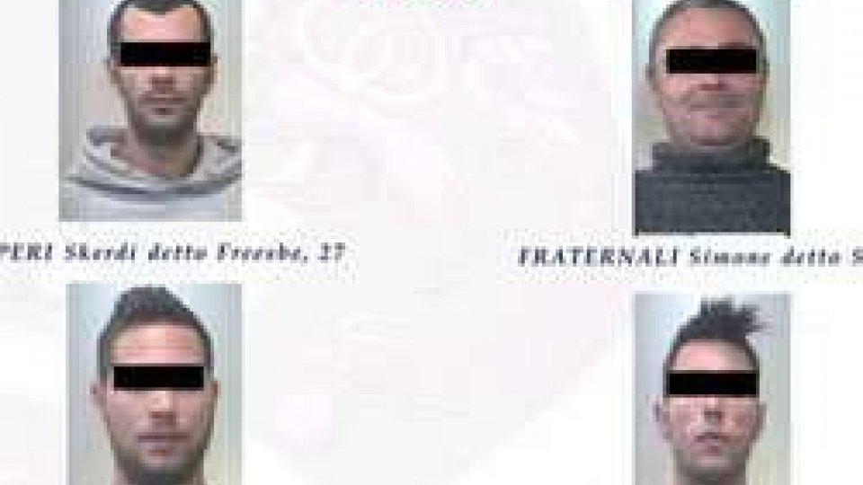 Riccione, carabinieri: 7 ordinanze di custodia per droga
