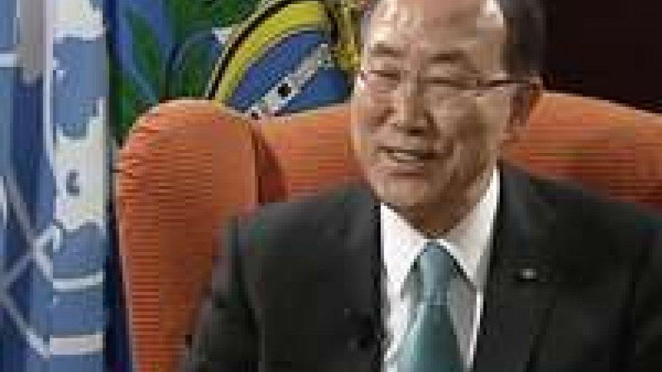 Intervista esclusiva al segretario generale dell'Onu Ban Ki-moon