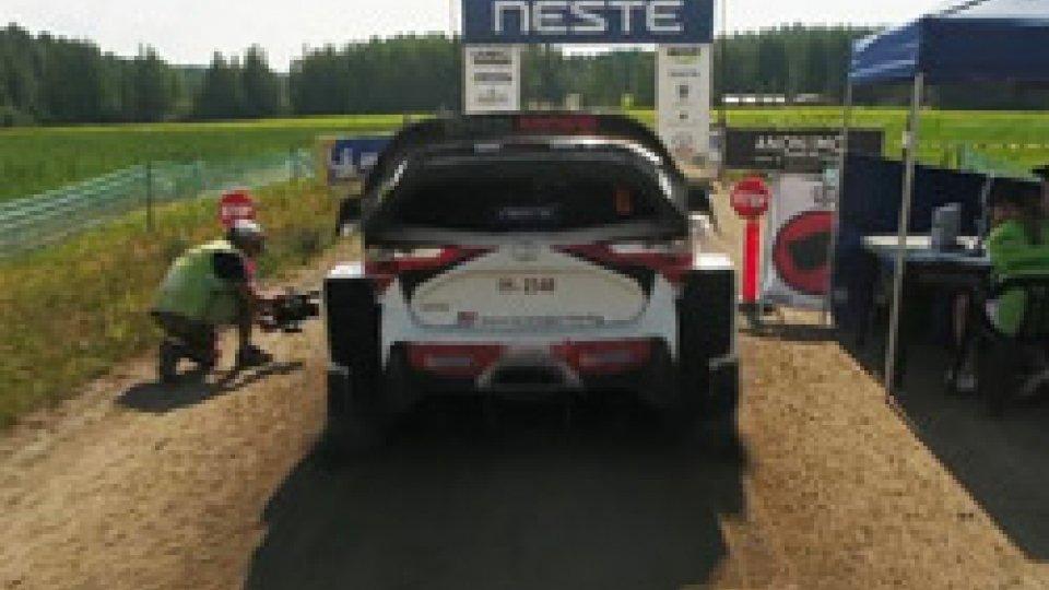 WRC: Rally di Finlandia, Tanak allunga su Ostberg