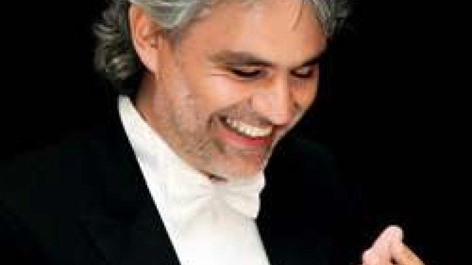Andrea Bocelli (ph Rockol.it)Cds: Andrea Bocelli ambasciatore della cultura per San Marino