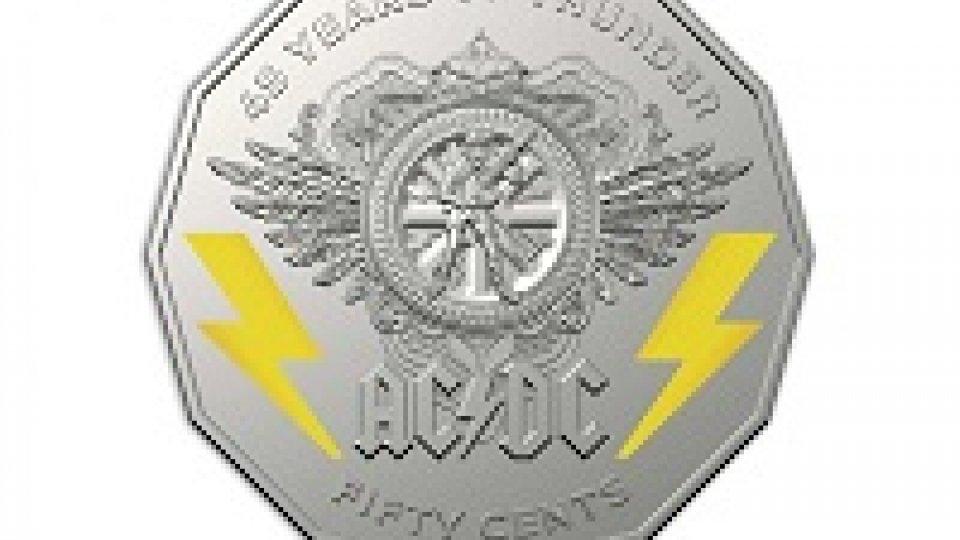 Coniata moneta australiana per i 45 anni degli AC/DC