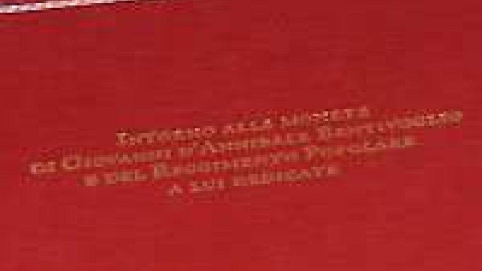 Bologna: presentato all'Archiginnasio un libro inedito scoperto a Villa ManzoniBologna: presentato all'Archiginnasio un libro inedito scoperto a Villa Manzoni