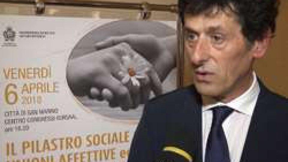 Il Segretario Guerrino ZanottiIl pilastro sociale tra unioni affettive ed evoluzioni dell'amore