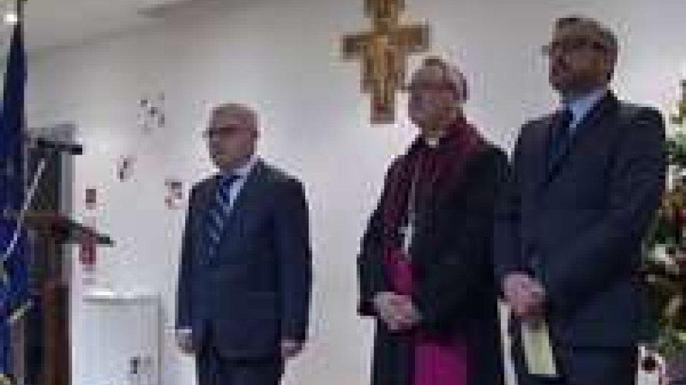 Prefetto e presidente della Provincia di Rimini insiemePrefetto e presidente della Provincia di Rimini insieme per il tradizionale saluto congiunto di fine anno