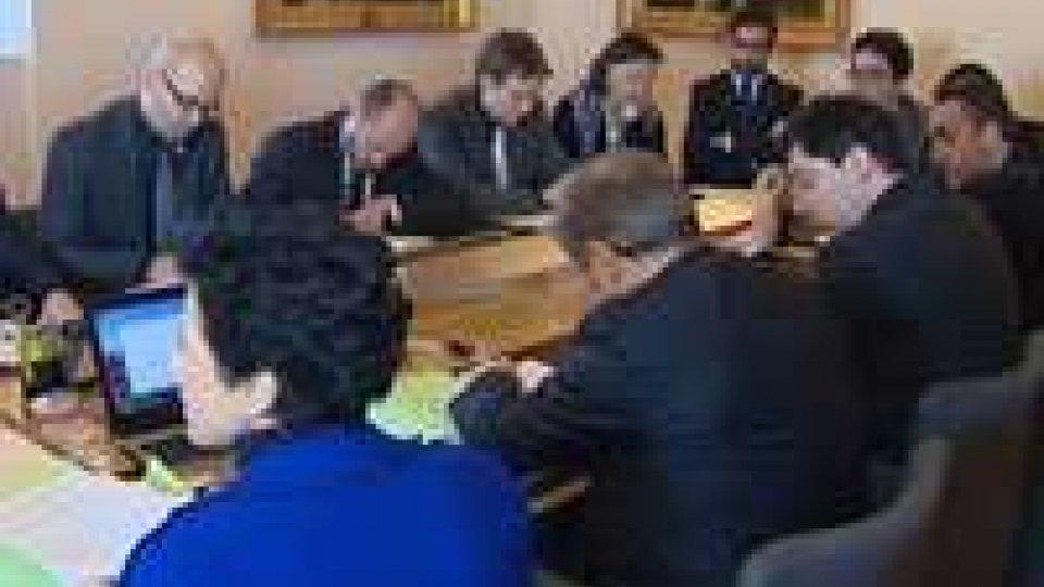 Riunito l'Ufficio di Presidenza