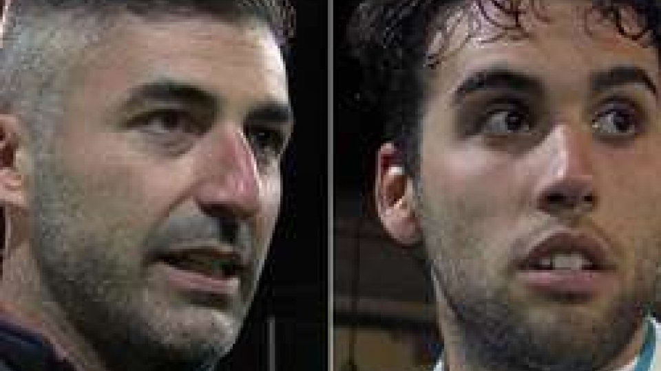 """Matteo Canini e Danilo BusignaniSupercoppa Futsal, Canini: """"Vogliamo continuare a vincere"""". Busignani: """"Complimenti ai gialloblu"""""""