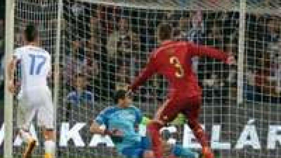 Euro 2016, qualificazioni: tonfo Spagna, Svezia-Russia 1-1