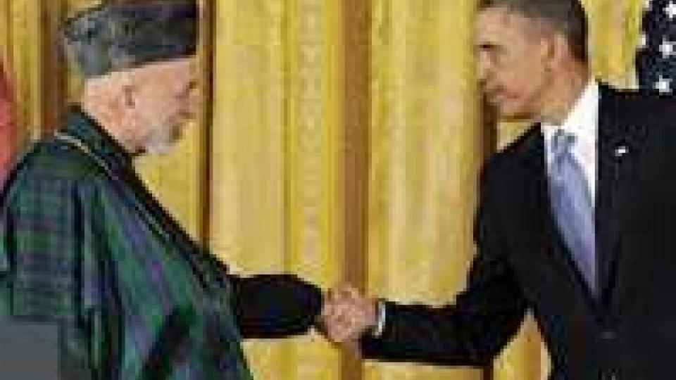 Afghanistan: Obama e Karzai parlano del processo di pace