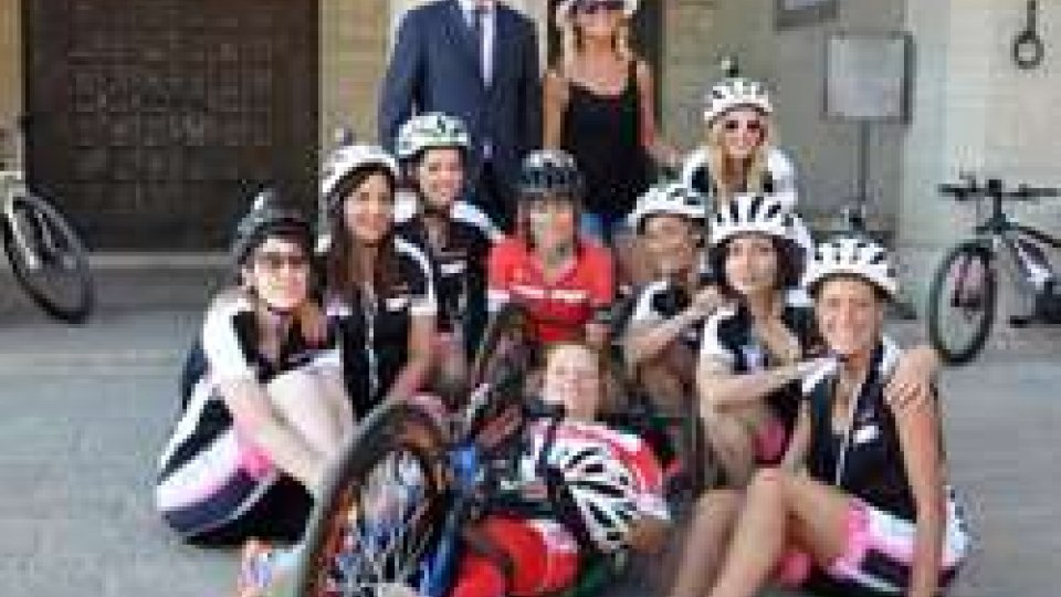 "San Marino su SKY ""Bike Woman"""