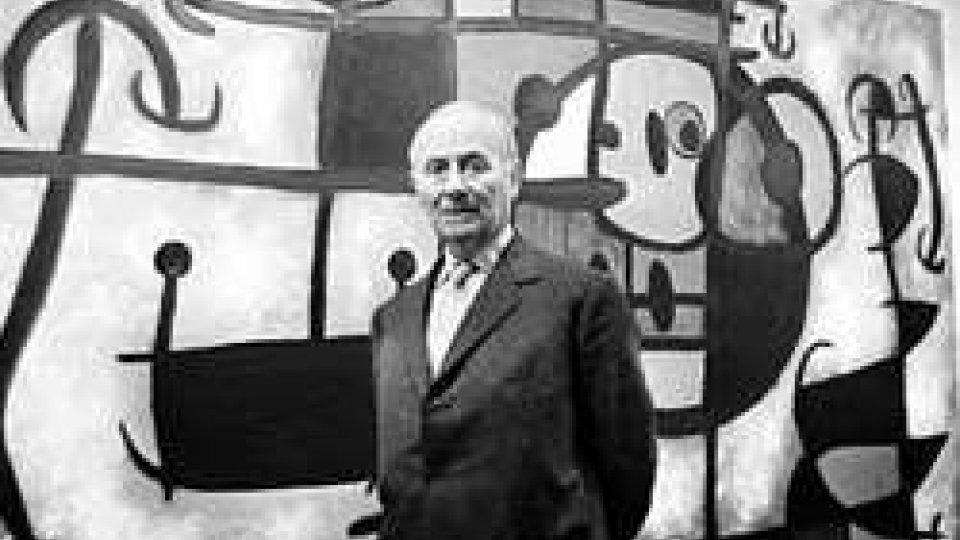 L'artista catalano Joan Mirò