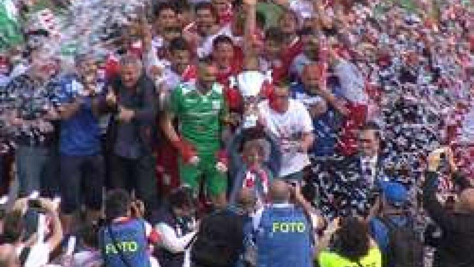 Il Rimini festeggia il ritorno in C battendo la CorreggeseIl Rimini festeggia il ritorno in C battendo la Correggese