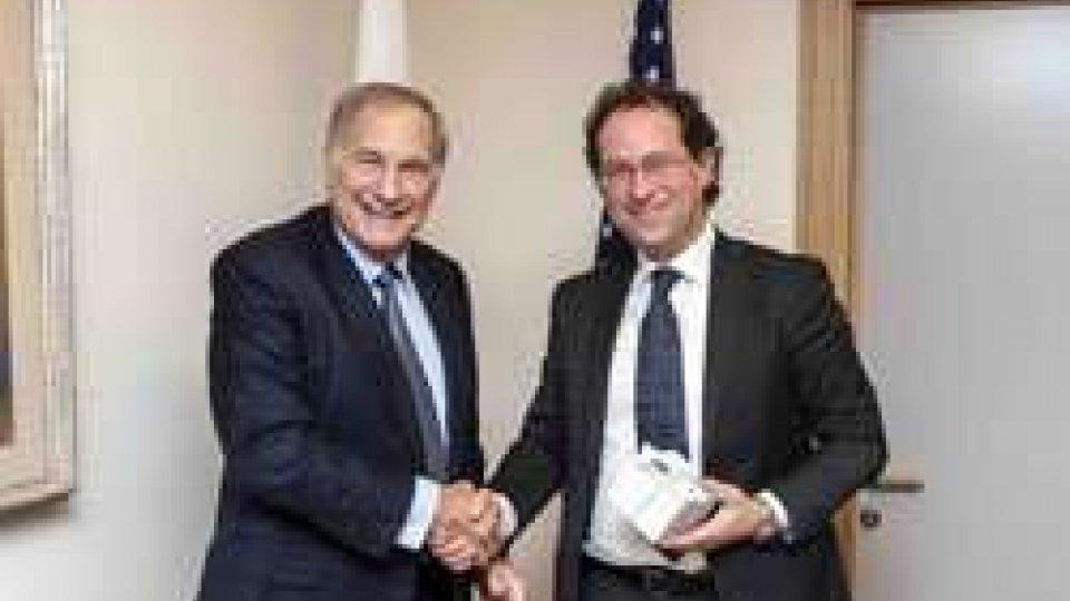 L'Ambasciatore degli Stati Uniti Phillips ha incontrato il Segretario Arzilli