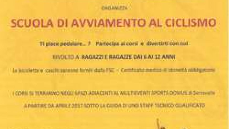 Ciclismo Juvenes Banca CIS: aperte le Iscrizioni alla Scuola di Avviamento al Ciclismo