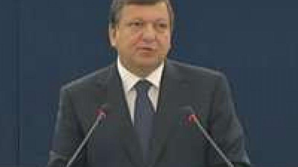 Strasburgo. Barroso su stato Unione: non più dubbi su irreversibilità euro