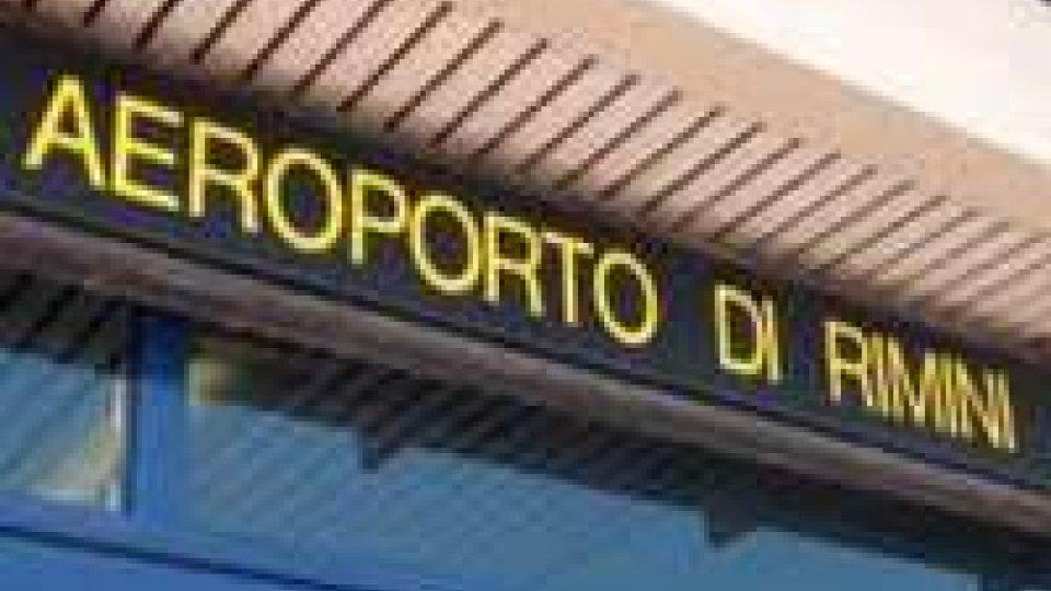 Segreteria di Stato Industria sull'aeroporto Fellini di Rimini