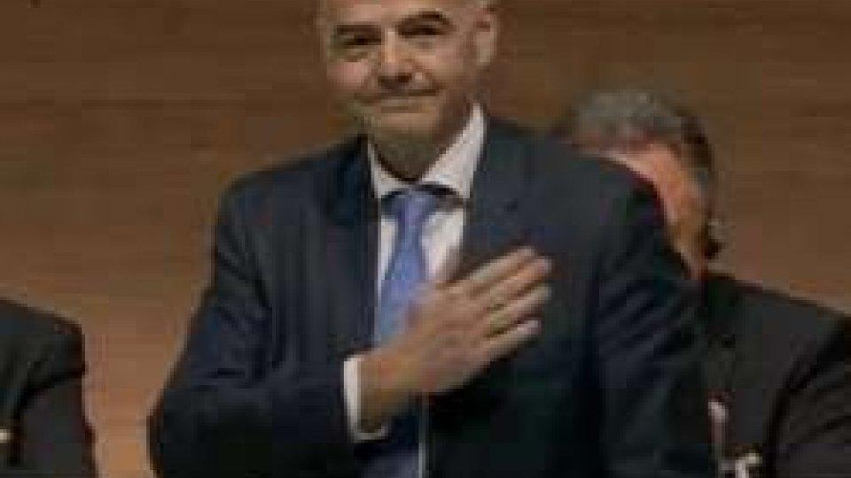 """Gianni InfantinoInfantino, il presidente del calcio: """"Entriamo in una nuova era"""""""