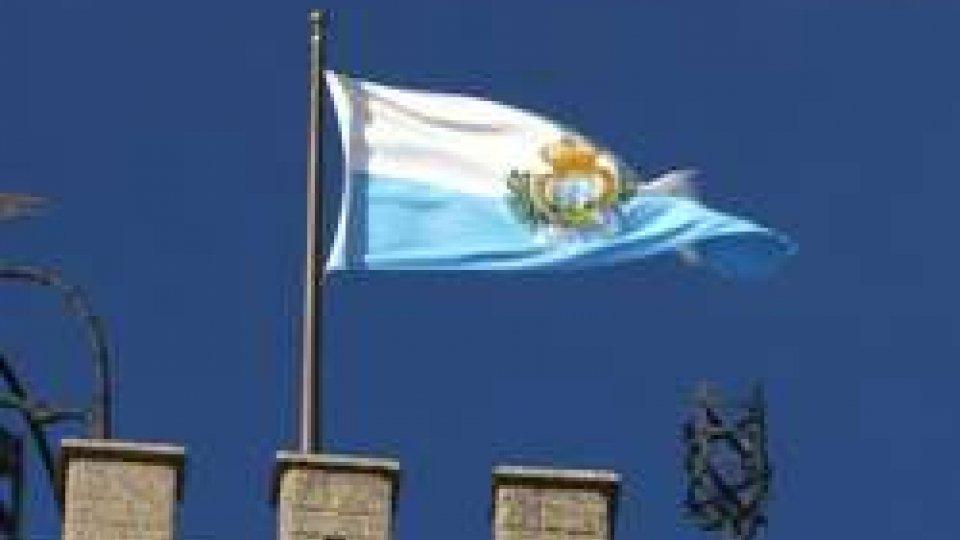 Bandiera su Palazzo Pubblico