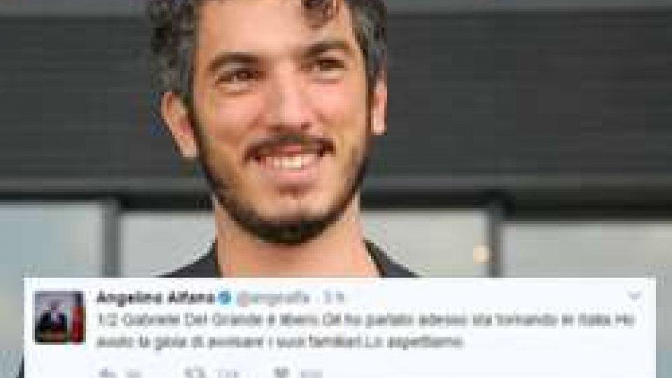 Alfano: 'Gabriele Del Grande è libero, sta tornando in Italia'