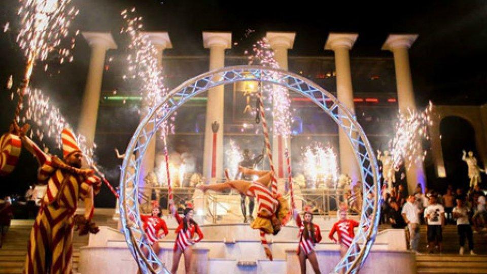 Baia Imperiale: Capodanno Imperiale all'RDS Stadium di Rimini.
