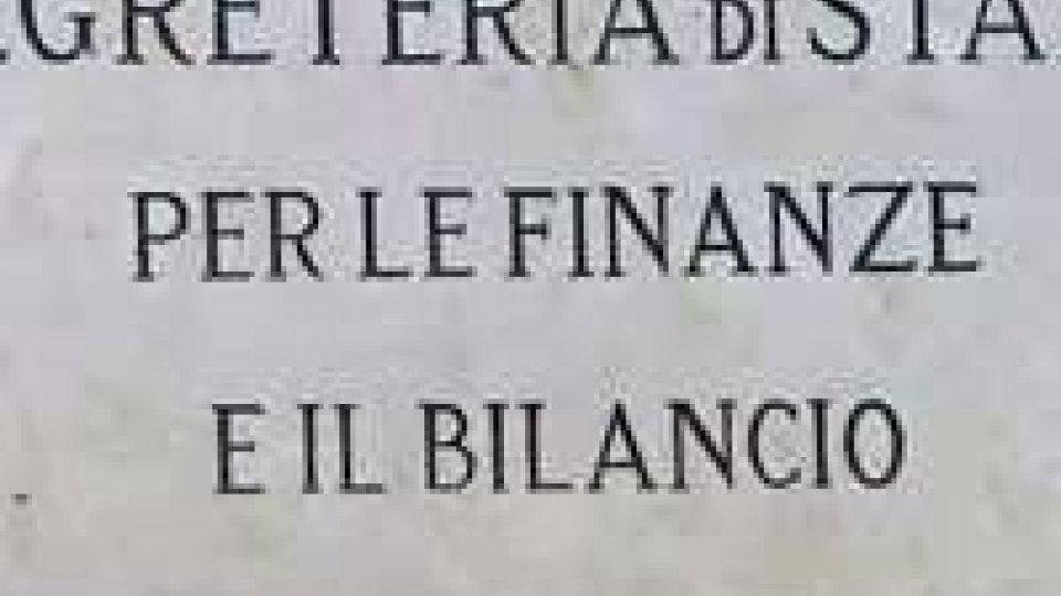 Cda Carisp. La nota della Segreteria alle Finanze