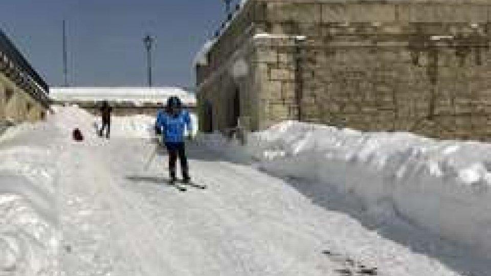 Alessandro MariottiLo sciatore Alessandro Mariotti, accolto dalle Istituzioni sammarinesi, riparte con gli sci