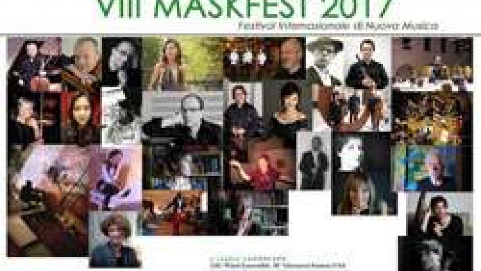 VIII MASKFEST 2017 - Festiva Internazionale di Nuova Musica nel quale si esibiranno artisti provenienti da 4 Continenti.