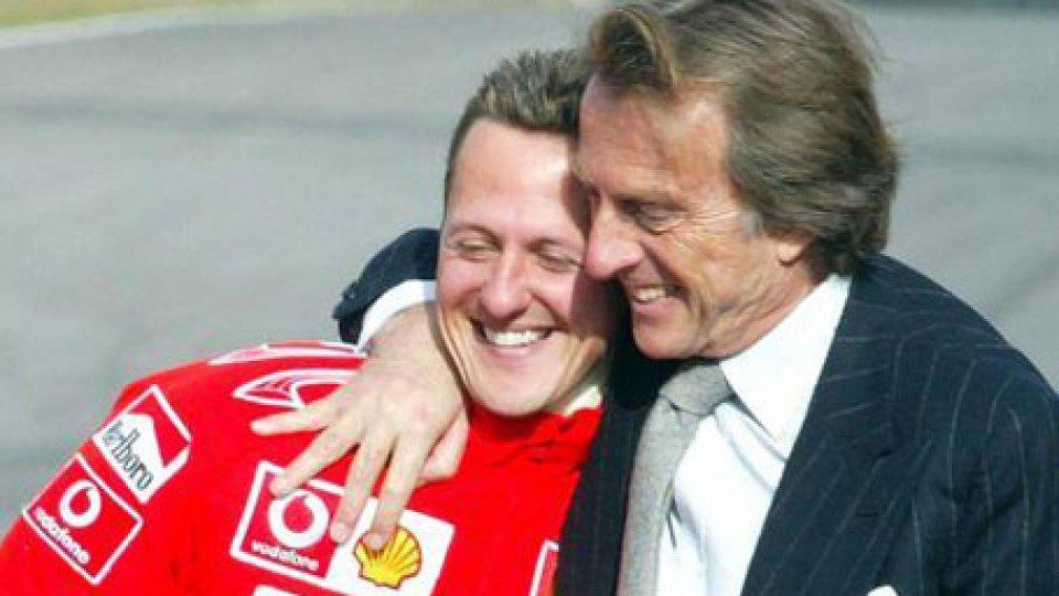 Michael Schumacher Luca di Montezemolo @gazzetta.it