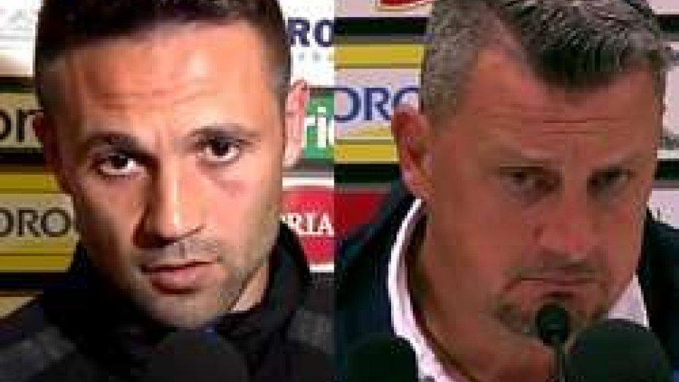 Ciano e CamploneCesena - Spezia: i commenti post partita di Ciano e Camplone