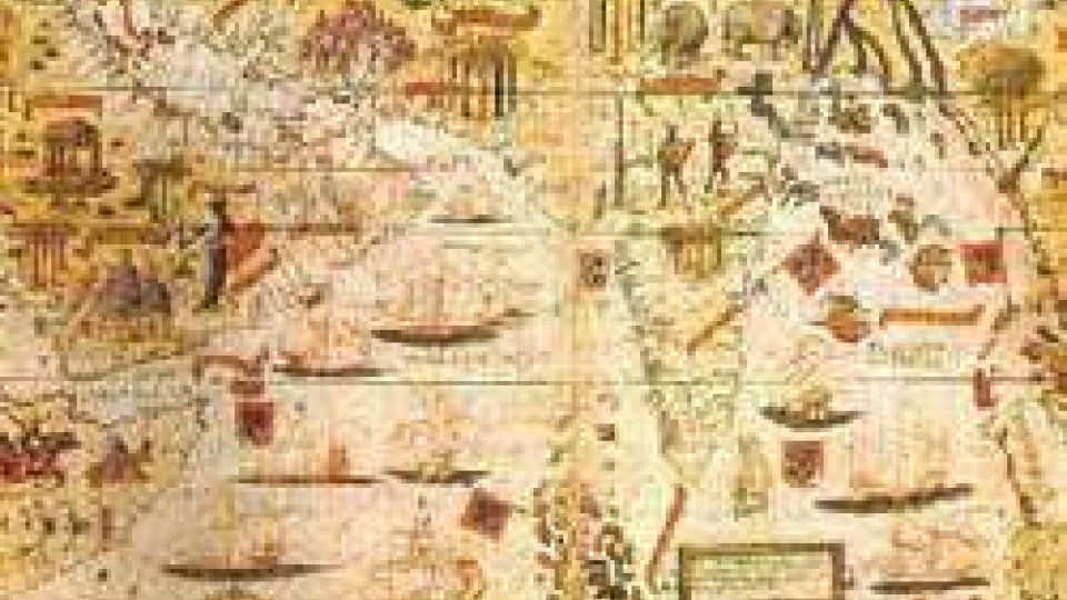 Una carta geografica