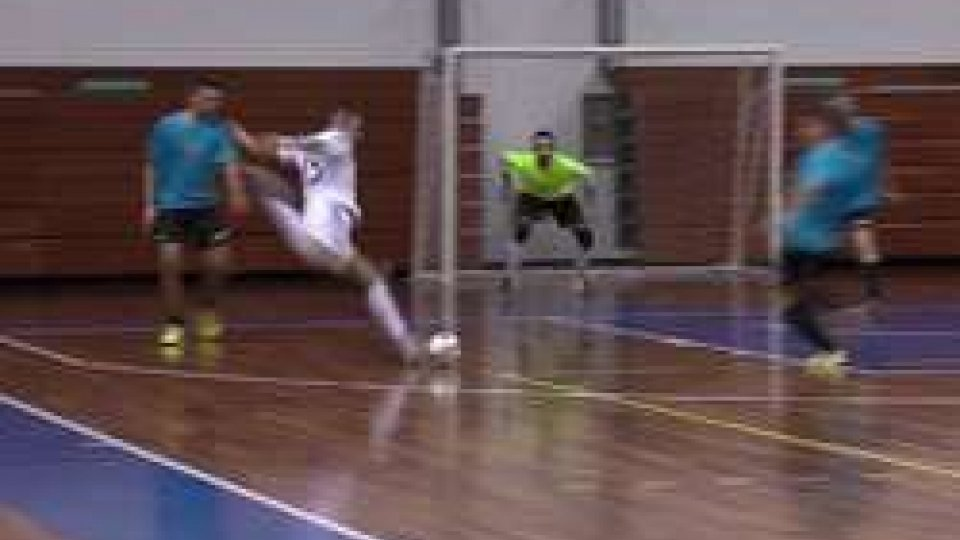 Il gol di BelloniFutsal: la Nazionale Sammarinese supera l'Alma Juventus Fano per 2 a 1