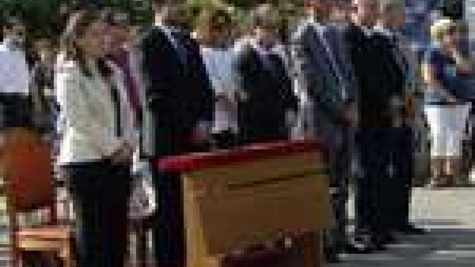 San Marino - I Reggenti alle celebrazioni religiose in occasione della Festa della Madonna Addolorata